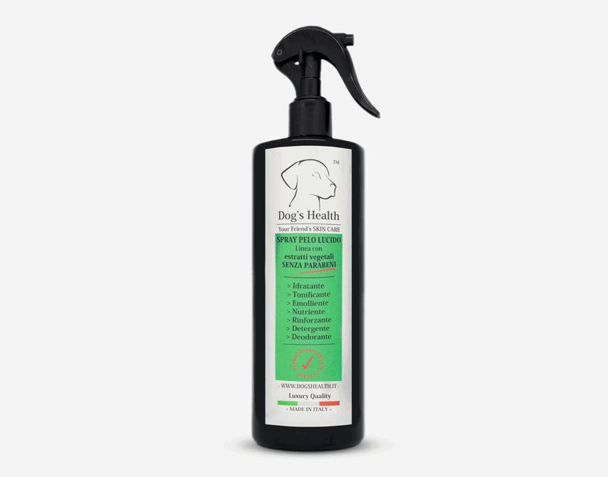 spray pelo lucido per cani dogs health
