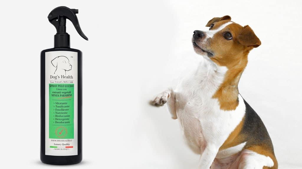 spray pelo lucido cane dogs health