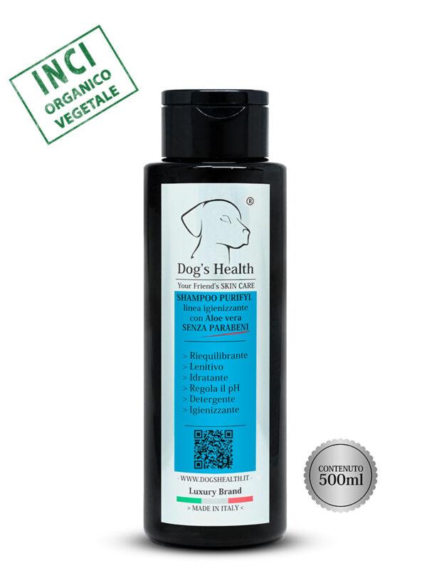 shampoo purifyl igiene cane dog's health