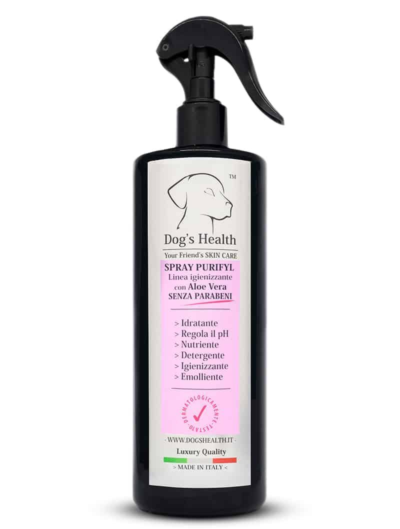 spray purifyl igiene cane dog's health
