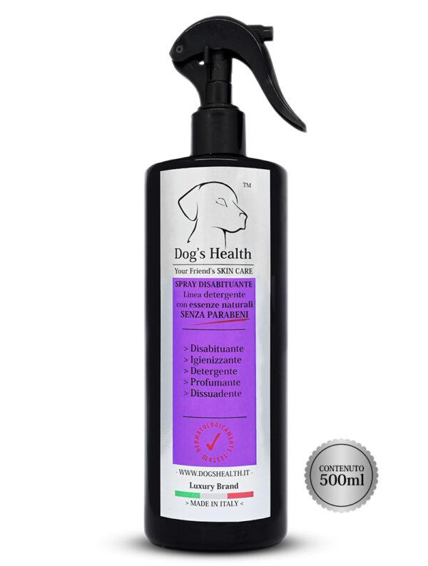 spray disabituante cane dog's health