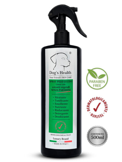 spray pelo lucido cane dog's health